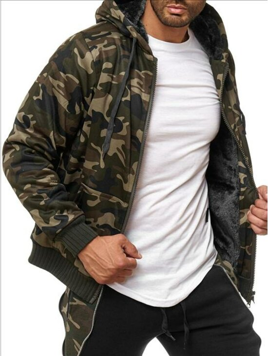 Férfi army téli kabát  08c65679c3