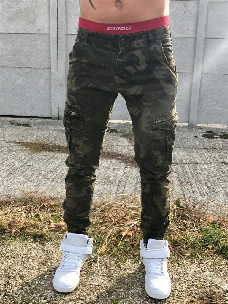 Divatos katonamintás férfi nadrág | Starstyle.hu