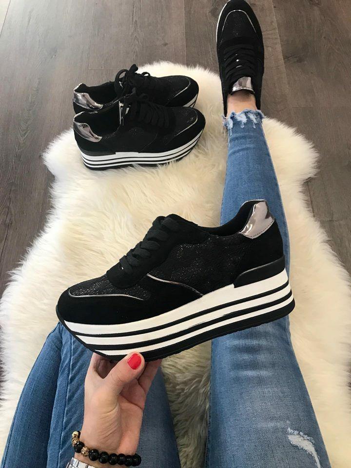 Női platform sportcipő ALENA | Starstyle.hu