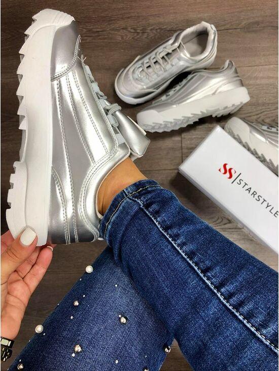 5abfa706f Női platformos sportcipő BRILL | Starstyle.hu