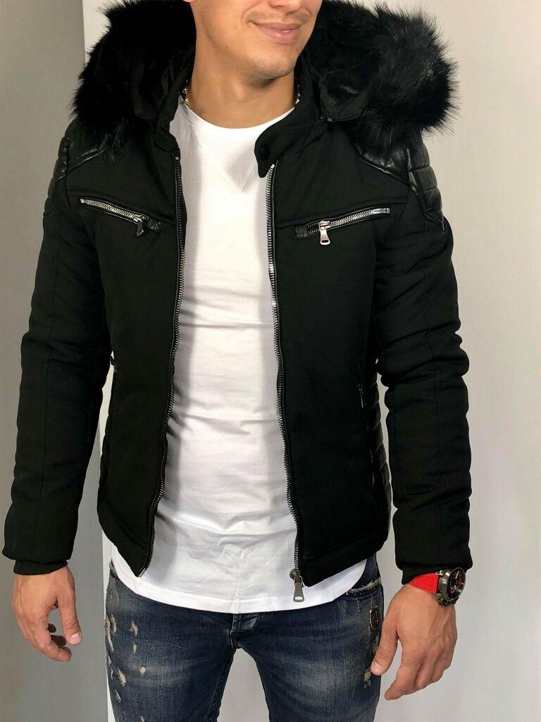 14d496a6d2 Férfi kabát levehető kapucnival | Starstyle.hu