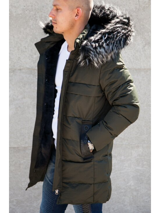 eafd970065 Longline férfi téli kabát | Starstyle.hu
