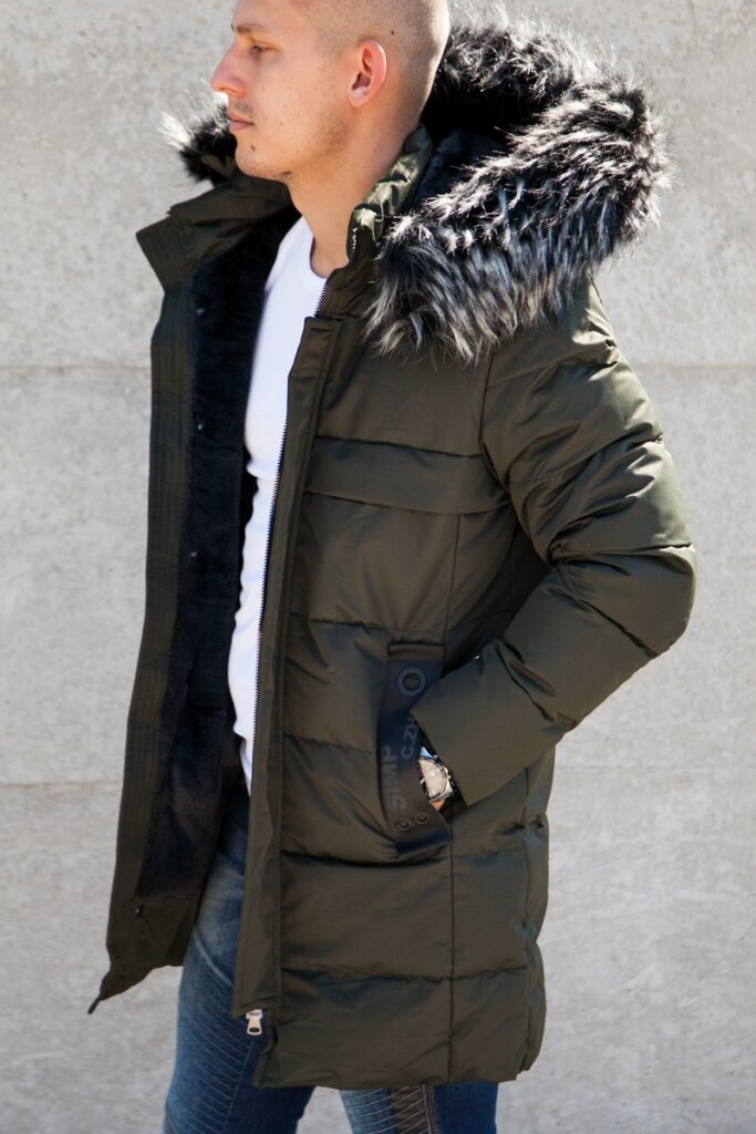 8913eb132e Longline férfi téli kabát   Starstyle.hu