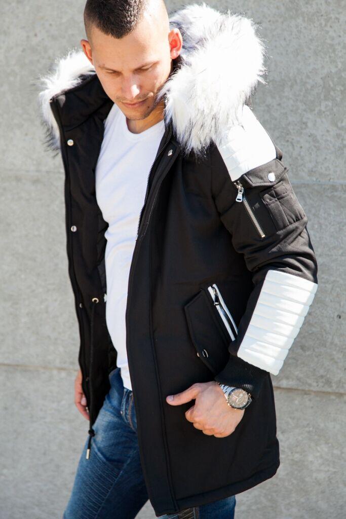 e76d62c4ae Longline férfi téli kabát | Starstyle.hu