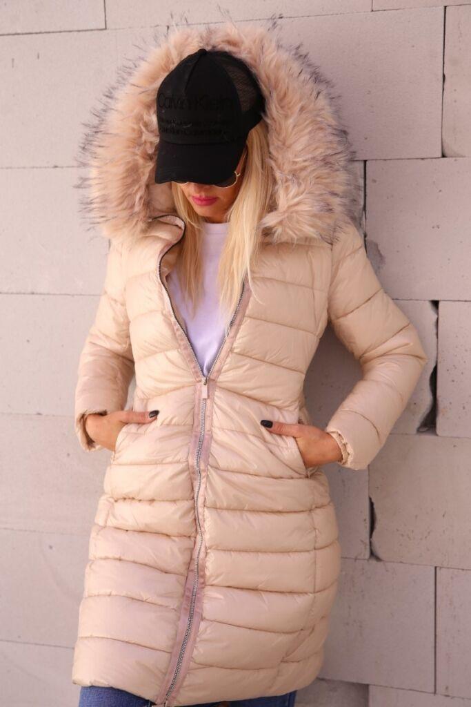 Női steppelt téli kabát BAYAN | Starstyle.hu