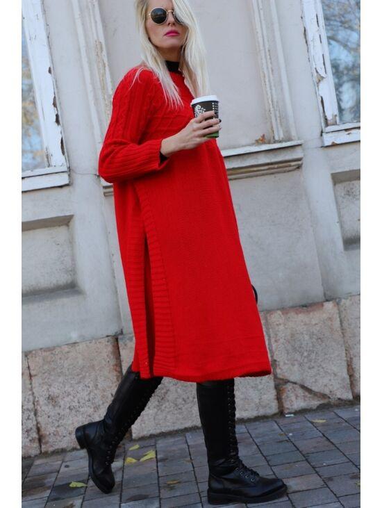 Hosszú kötött pulóver ODELL | Starstyle.hu