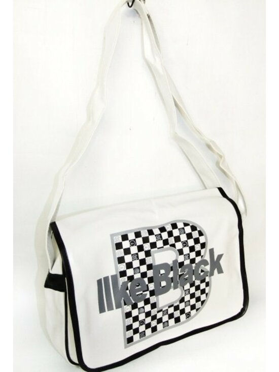 39b0c05930 Fehér-fekete sportos női táska | Starstyle.hu