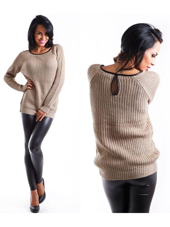 Hosszú kötött pulóver | Starstyle.hu